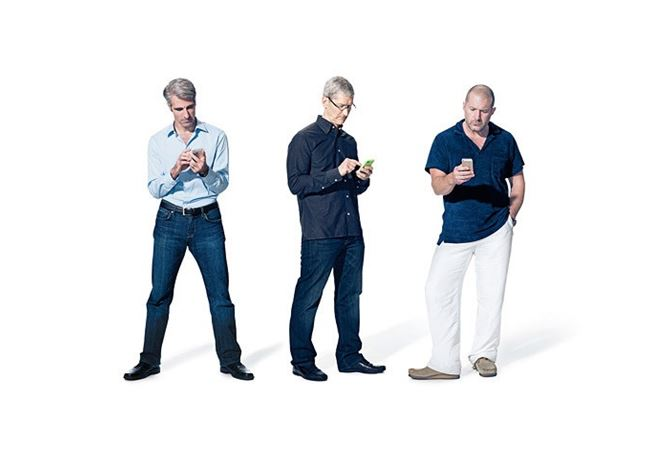 Apple interview iOS jony ive tim cook