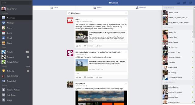 app facebook Messenger sharing social Update Windows Windows 8.1