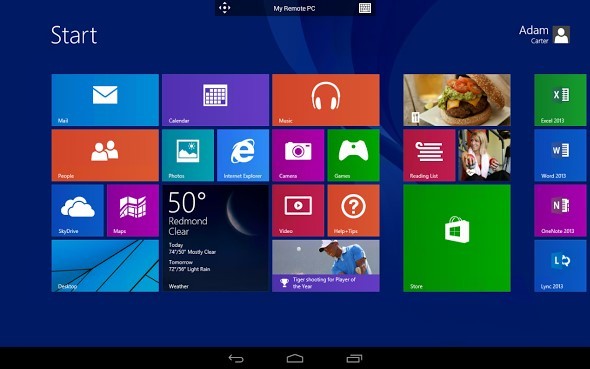 Android app microsoft Remote Desktop Update