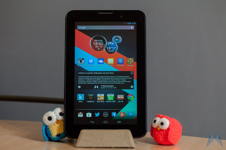 Android Galerie tablet Vodafone