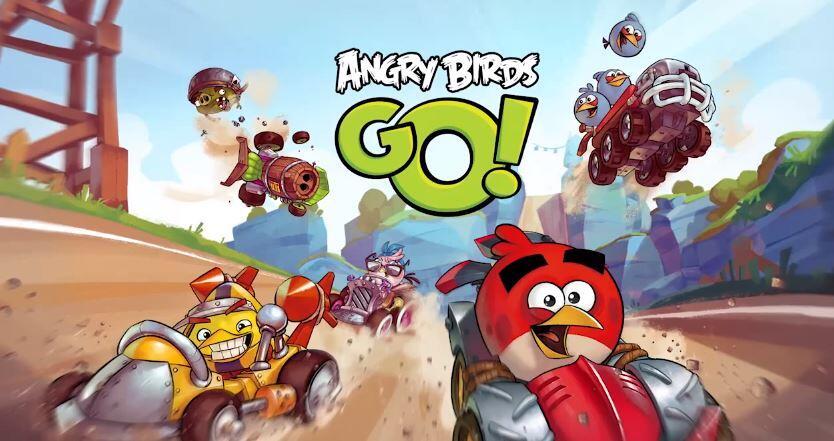 Android Angry Birds go iOS