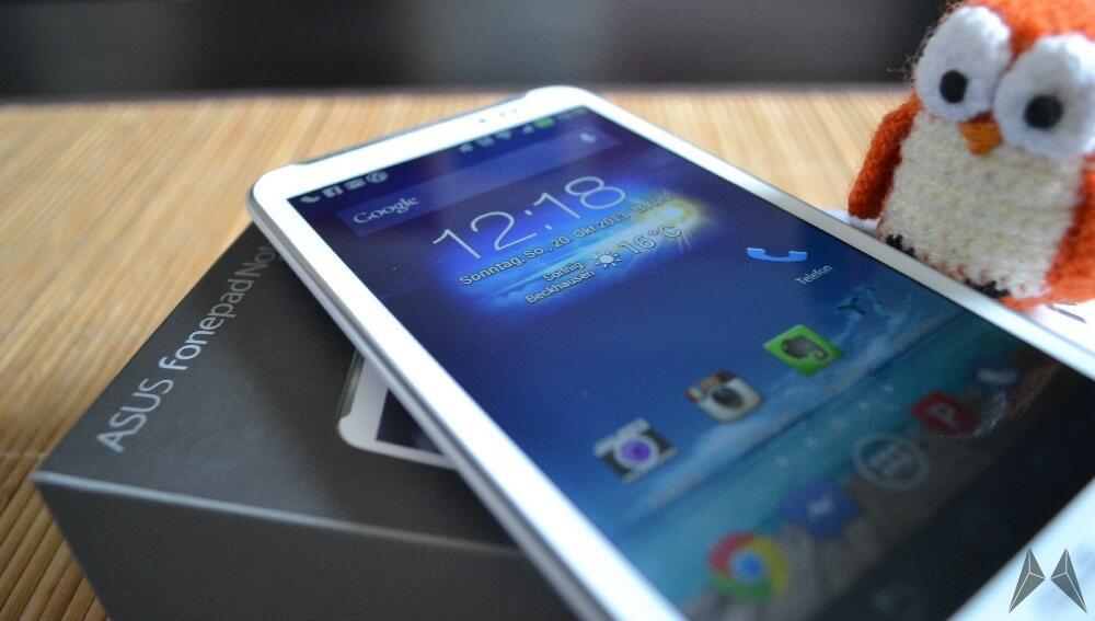 Android Asus Digitizer erster eindruck Fonepad Note 6 Kurztest Phablet Testbericht