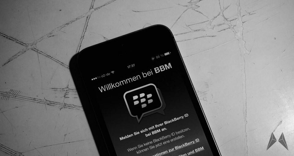 BBM beta BlackBerry Messenger Update