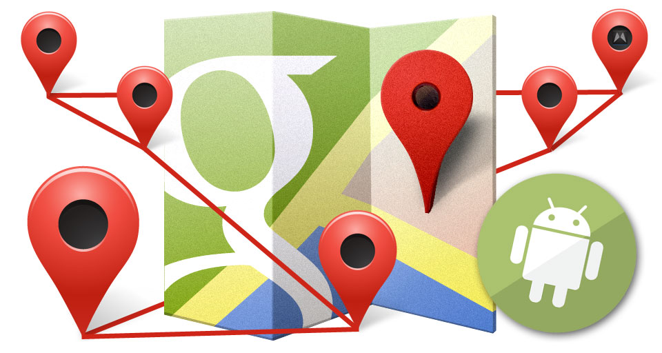 Android Google GPS standort
