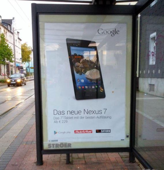 Android Google nexus nexus 7 spot