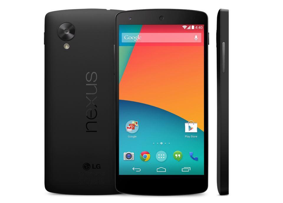 1 5 Android Google kitkat LG nexus