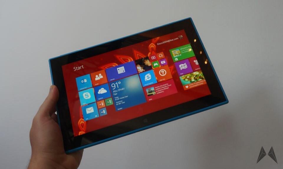 Nokia rt tablet Windows