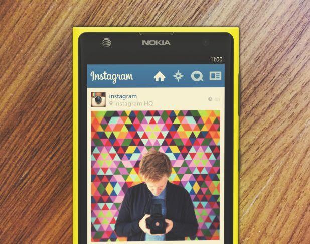 instagram Lumia Nokia Windows Phone