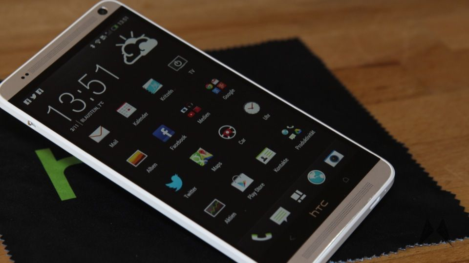 1 6 Zoll Android Galerie HTC htc one max max one Testbericht
