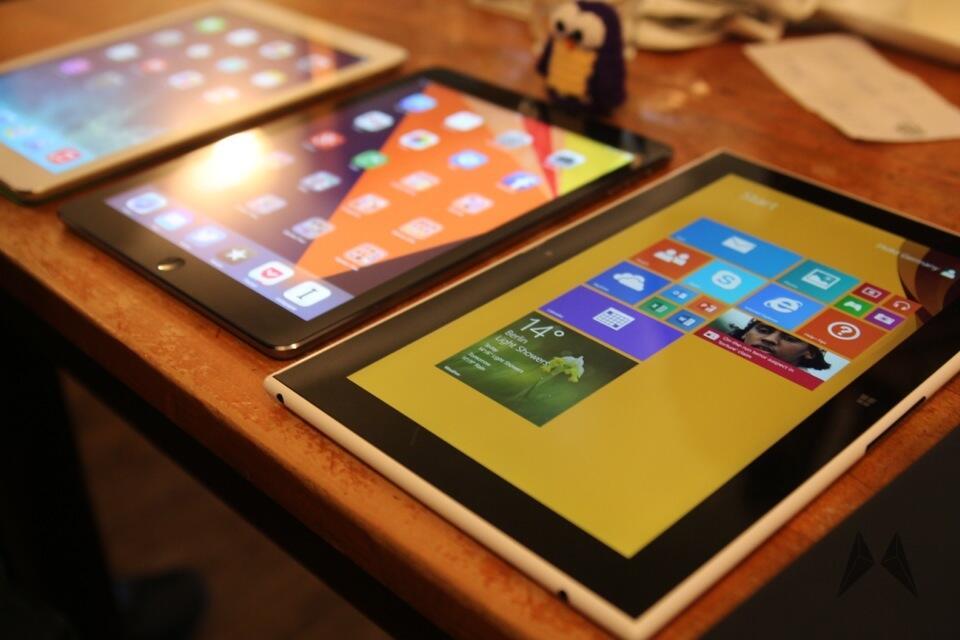 iOS iPad Lumia Nokia tablet Windows