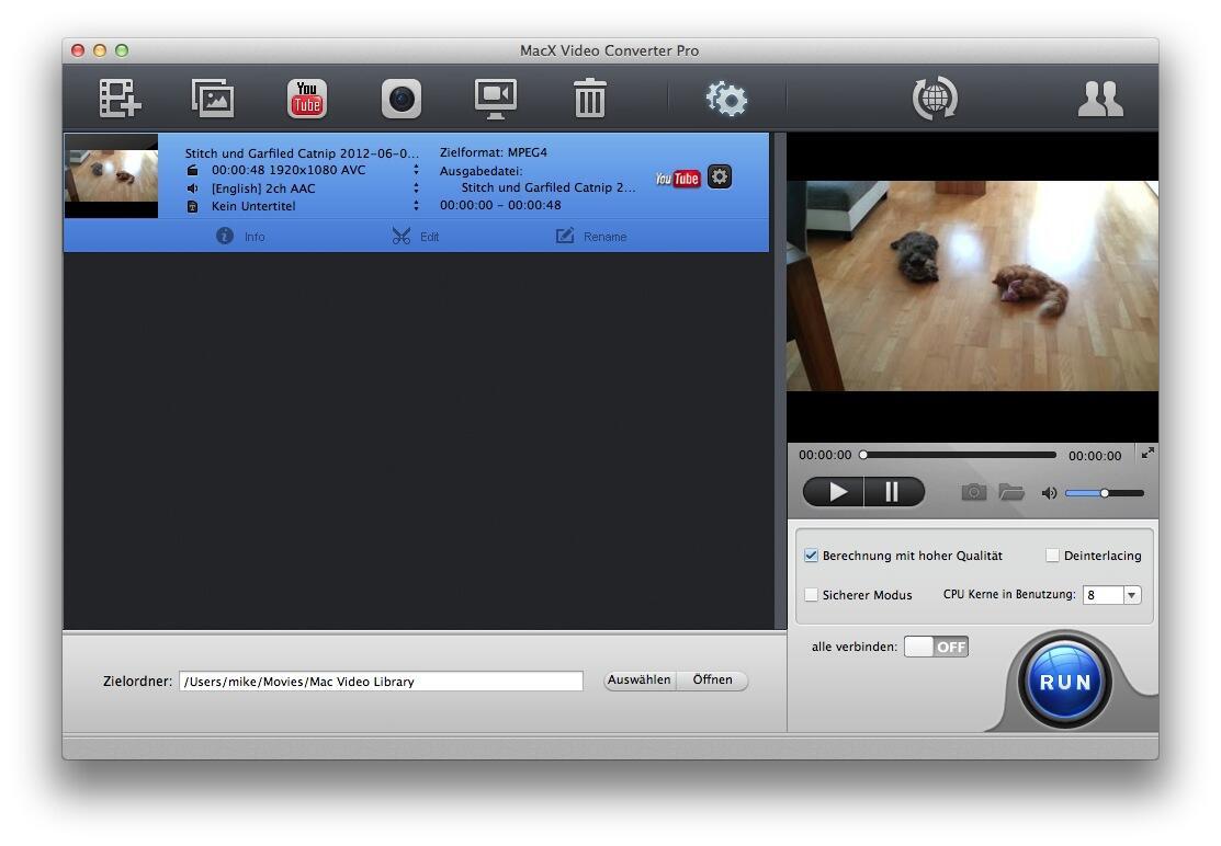 Converter Kostenlos mac OSX Video