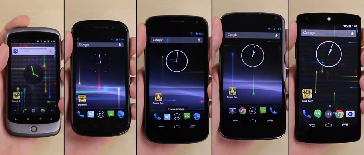 Android nexus Smartphone test Video