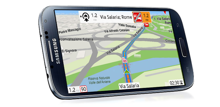 Android iOS navigation