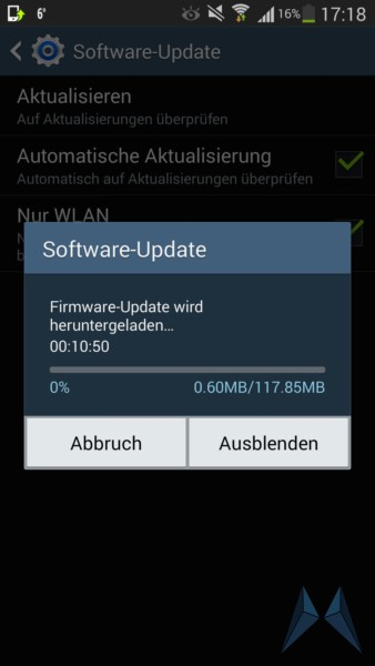 Android Firmware note note 3 ota Samsung Update