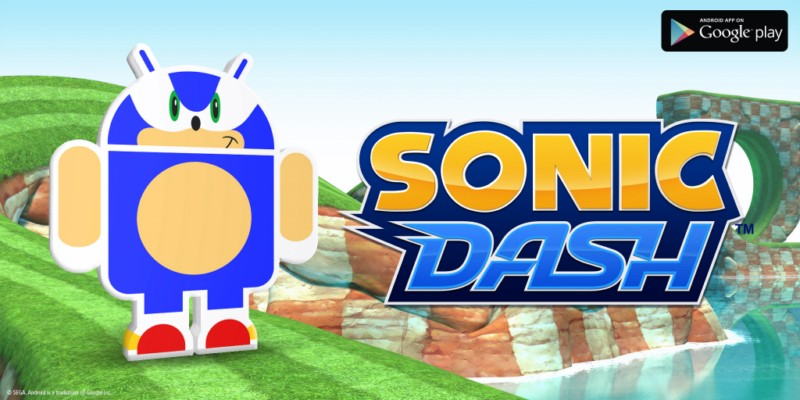 Android dash fun Game sonic