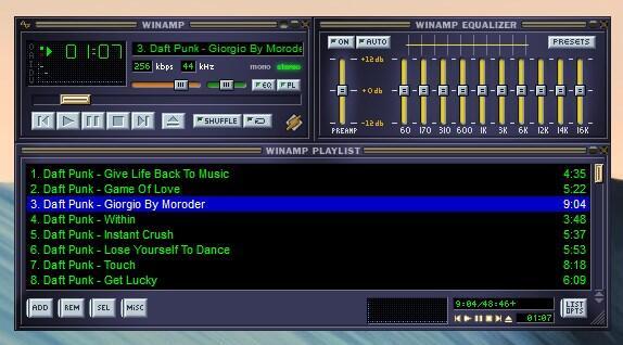 Musik rip winamp Windows
