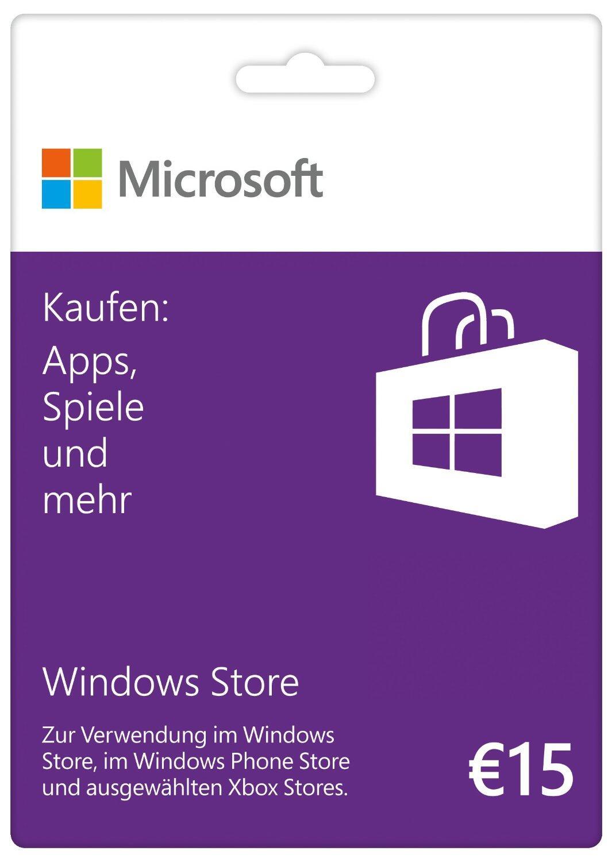 deutschland guthaben karten microsoft Store Windows