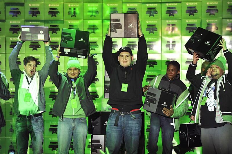 konsole launch microsoft Spielekonsole Verkaufszahlen Xbox One