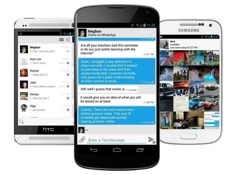 Android app instant messenger Messenger plugin whatsapp