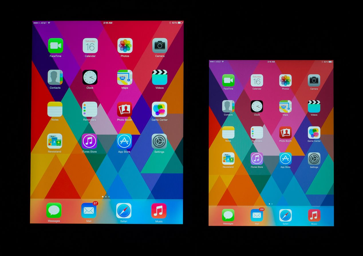 Apple Display iOS iPad Mini retina