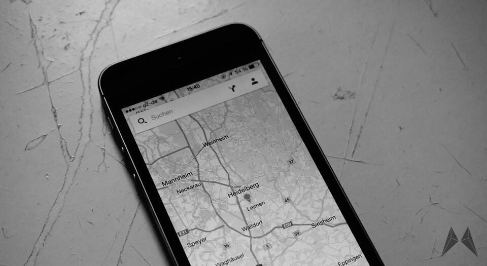 Apple iOS karten navigation