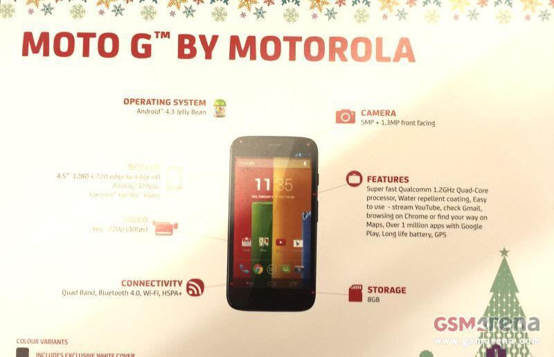 Android G Leak Moto G Motorola