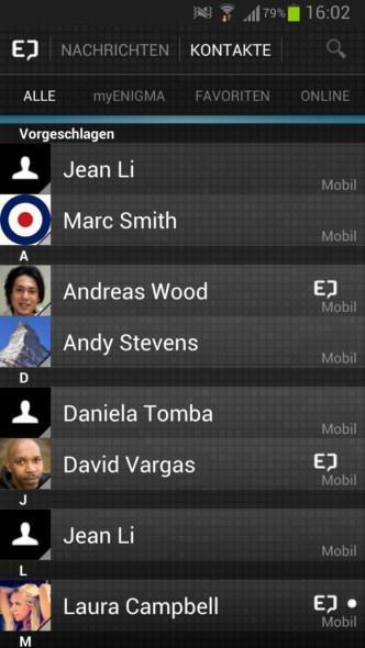 Android app blackberry iOS Messenger