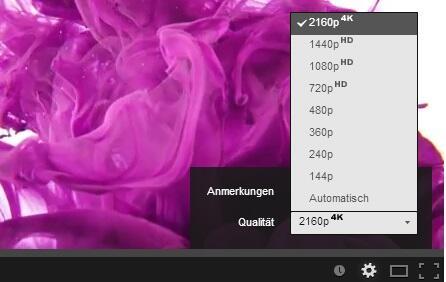 4k HD player Video YouTube