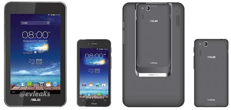 Android Asus Dock evleaks Leak Padfone Mini Smartphone tablet