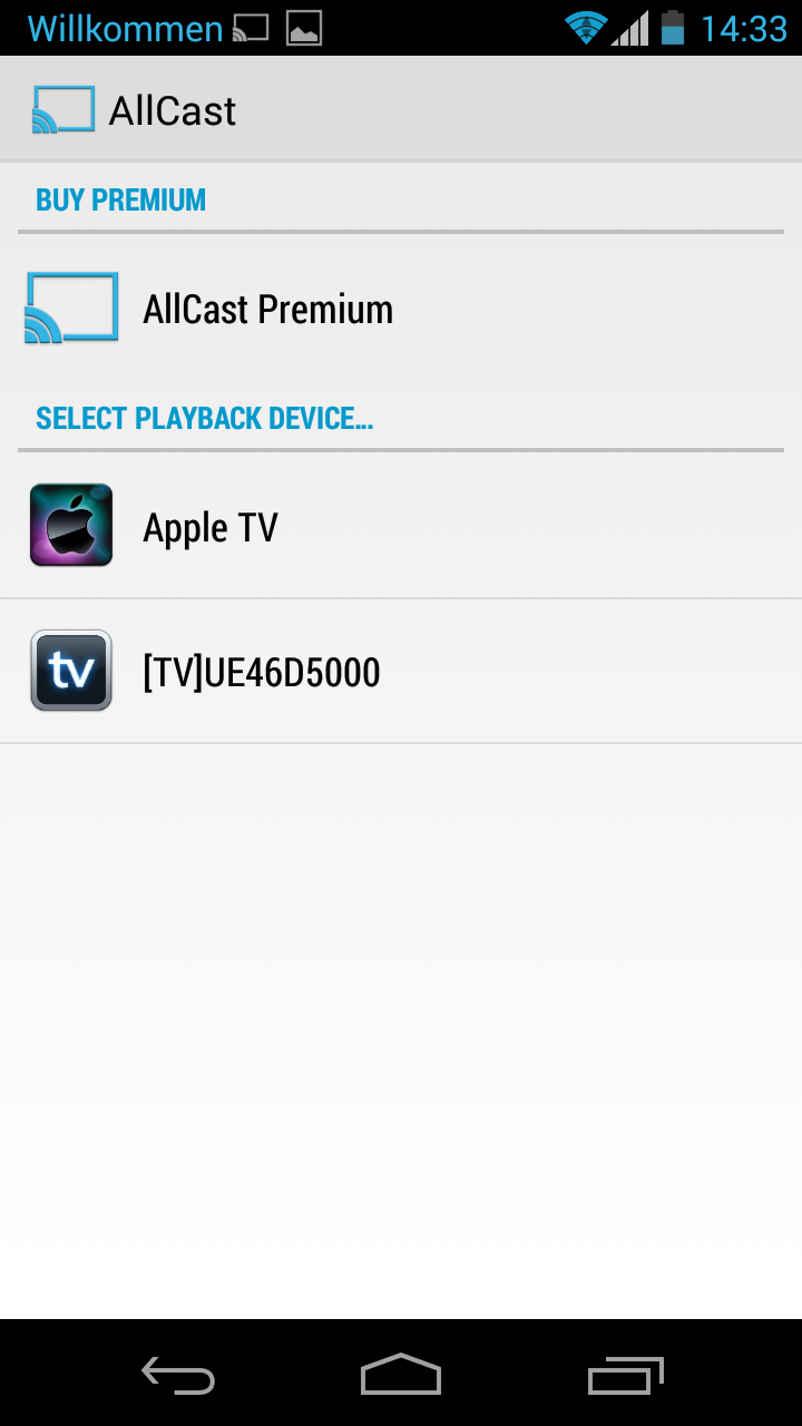 airplay AllCast Android google play