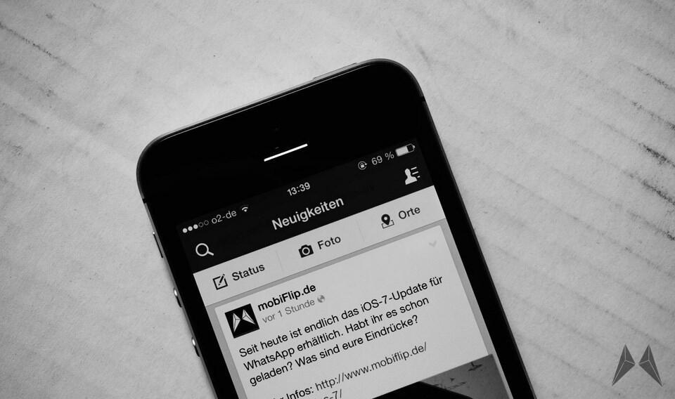 facebook inhalt Nachrichten timeline