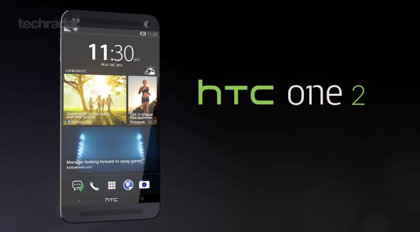 Android HTC Konzept one