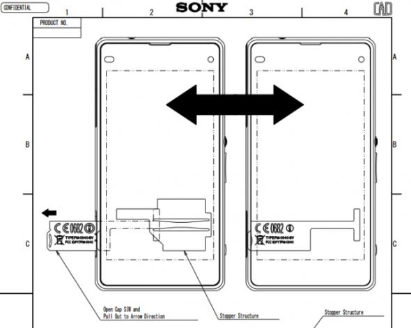 Android fcc Honami Mini Sony