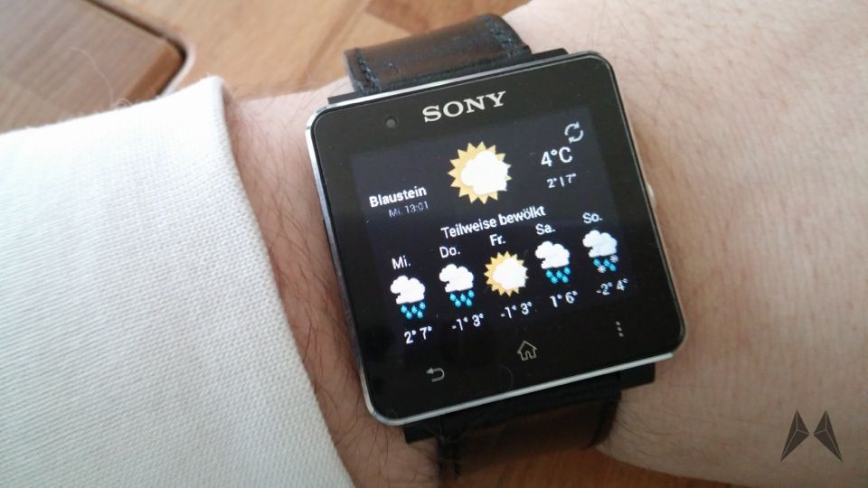 Android Smartwatch 2 Sony SW2