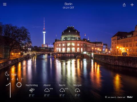 Apple iOS iPad Wetter Yahoo!