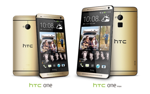 Android Gold HTC max one