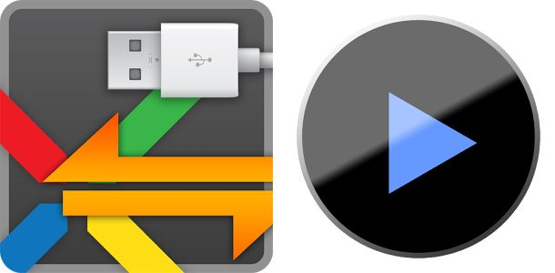 Android app media Medien otg player Update usb