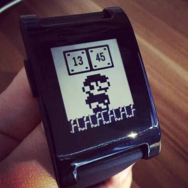 CES2014 Pebble smartwatch