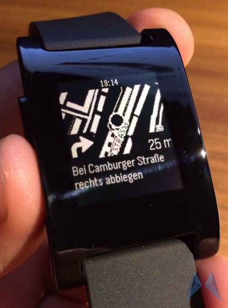 app iOS nav navigation Pebble Uhr