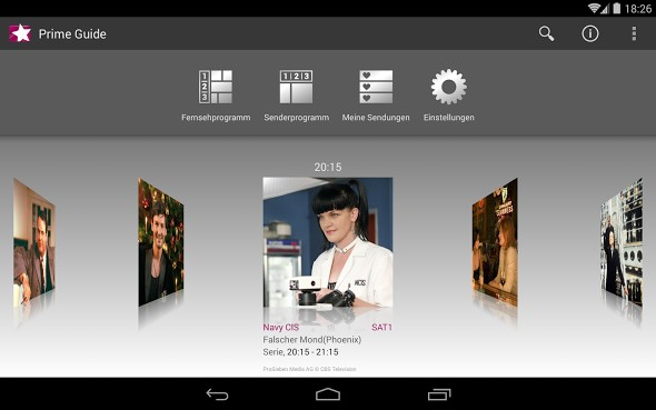 Android app TV