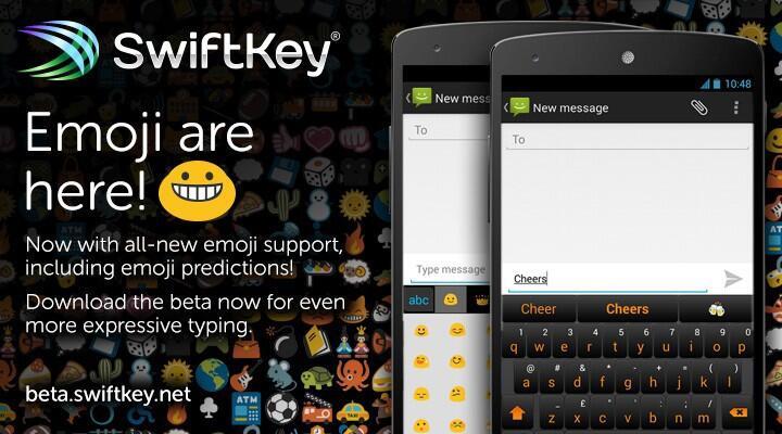 Android beta swiftkey Tastatur