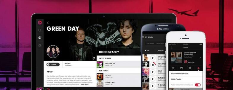 beats Beats Music dienst Musik streaming