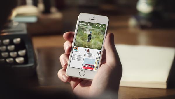 app facebook iOS paper social