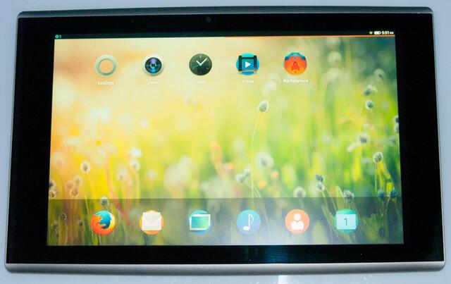 Firefox OS Mozilla prototyp tablet