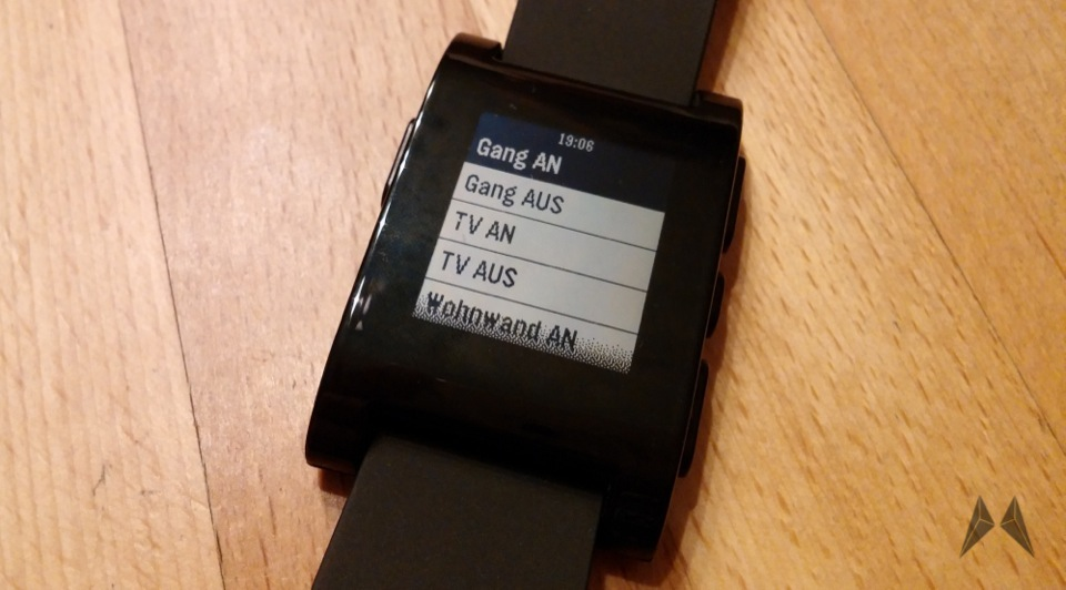 Android Heimsteuerung HomeWizard Pebble tasker