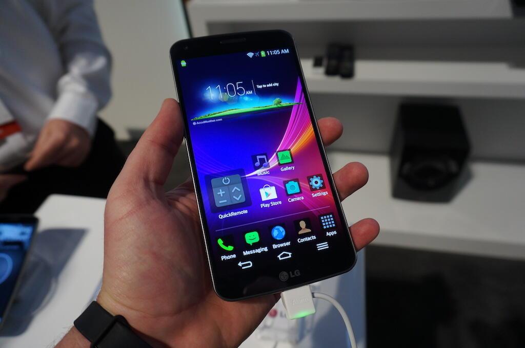 Android fail flex LG Vodafone