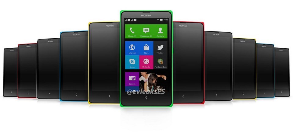 Android MWC2014 Nokia Smartphone