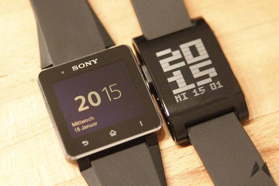 Android iOS Pebble smartwatch Sony SW2