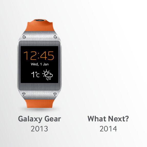 CES2014 galaxy gear Samsung teaser Wearable