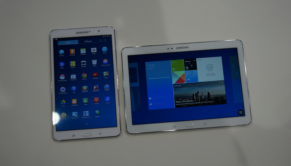 Android CES2014 galaxy note Samsung tab